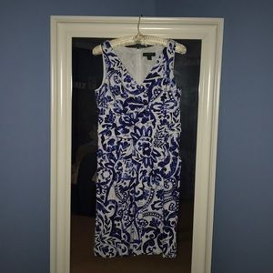 "Women's size 10, ""Derby"" dress, worn once."